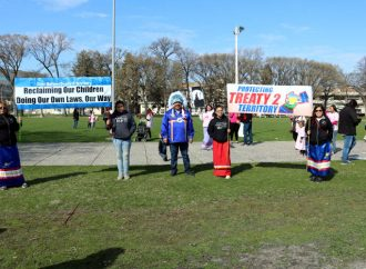 First Nations in Treaty 2 Territory (FNiT2) walk for Grandmothers