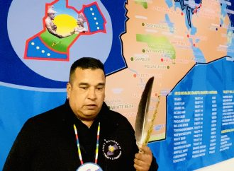 Tipi Talks with Grand Chief Eugene Eastman