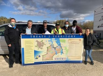 Treaty 2 Territory protection continues with visit to Obushkudayang