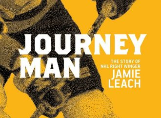 Journeyman is a first-person biography of Ojibwe right winger Jamie Leach, son of the legendary NHL superstar Reggie Leach, Riverton (T2T) Riffle