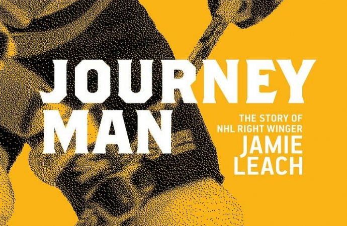 Journeymanis a first-person biography of Ojibwe right winger Jamie Leach, son of the legendary NHL superstar Reggie Leach, Riverton (T2T) Riffle