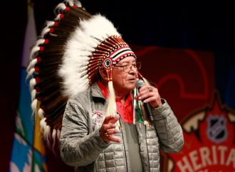 Miigwetch for paving the way for many athletes Fred Saskamoose (Chief Thunderstick)